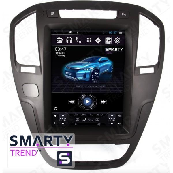 Штатная магнитола Smarty Trend для Opel Insignia 2013 (Tesla Style) - Android 6.0