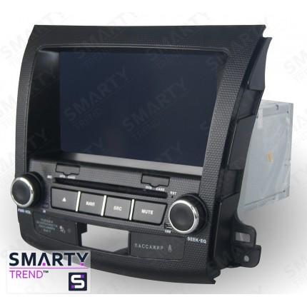 Штатная магнитола Smarty Trend для Peugeot 4007 - Android 8.1 (9.0)