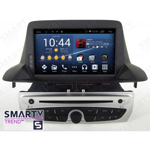 Штатная магнитола Smarty Trend ST3P2-516PK7084 для Renault Megane на Android 7.1.2 (Nougat)