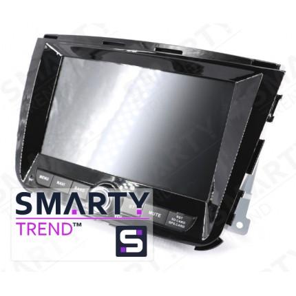 Штатная магнитола Smarty Trend для SsangYong Rexton W 2018+ - Android 8.1 (9.0)