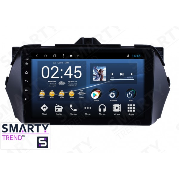 Штатная магнитола Smarty Trend для Suzuki Ciaz - Android 8.1 (9.0)