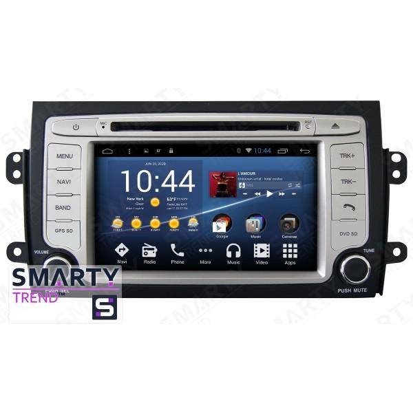 Штатная магнитола Smarty Trend для Suzuki SX4 2006-2012 - Android 8.1 (9.0)