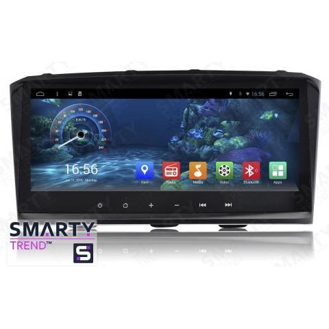 Штатная магнитола Smarty Trend ST3PW2-516P2722 для Toyota Avensis II (T250) 2003-2008 на Android 7.1.2 (Nougat)