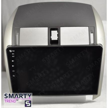 Штатная магнитола Smarty Trend для Toyota Corolla 2007-2013 - Android 7.1