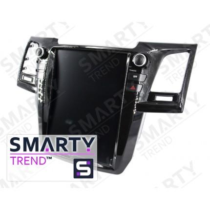 Штатная магнитола Smarty Trend для Toyota Fortuner 2015 (Tesla Style) - Android 6.0