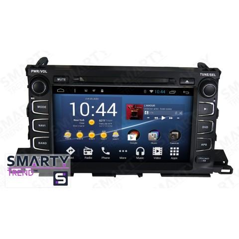 Штатная магнитола Smarty Trend ST8U-516K9003 для Toyota Highlander 2014-2018 на Android 8.1.0 Oreo (обновление до Android 9.0 P)