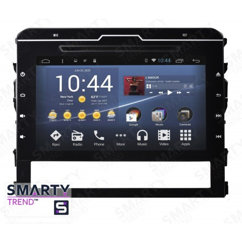 Штатная магнитола Smarty Trend ST3P2-516P2717 для Toyota Land Cruiser 200 2015+ на Android 7.1.2 (Nougat)