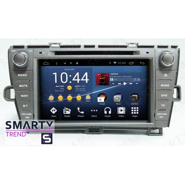 Штатная магнитола Smarty Trend для Toyota Prius - Android 8.1 (9.0)