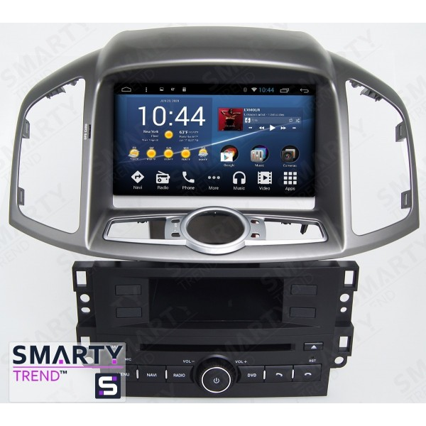 Штатная магнитола Smarty Trend для Chevrolet Captiva 2011-2014 - Android 7.1