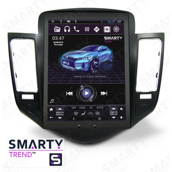 Штатная магнитола Smarty Trend для Chevrolet Cruze 2014-2015 (Tesla Style) - Android 6.0