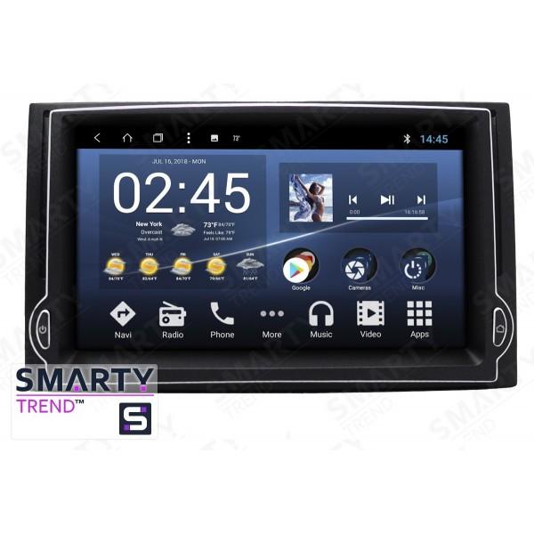 Штатная магнитола Smarty Trend для Hyundai H1 2007-2012 - Android 7.1