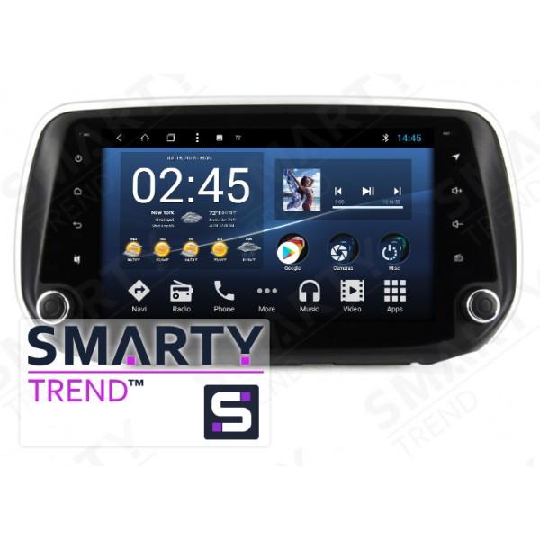 Штатная магнитола Smarty Trend для Hyundai Santa Fe IV 2018+ - Android 8.1 (9.0)