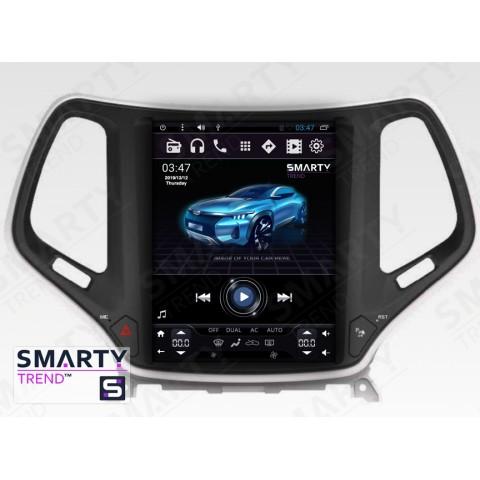 Штатная магнитола Smarty Trend ST8UT-516K10422 для Jeep Cherokee на Android 6.0.1 (Marshmallow)