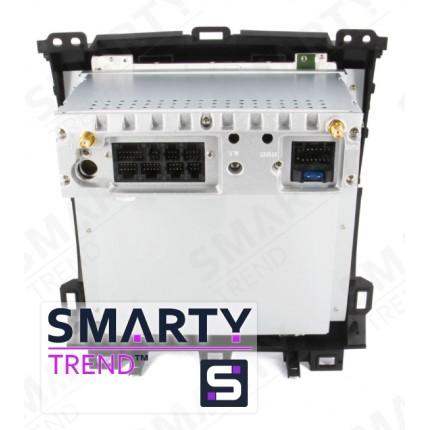 Штатная магнитола Smarty Trend для Lexus GX 470 2002-2009 (Tesla Style) - Android 6.0