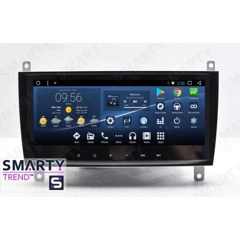 Штатная магнитола Smarty Trend ST3PW2-516P5997 для Mercedes Benz CLK-Class (w209) на Android 7.1.2 (Nougat)