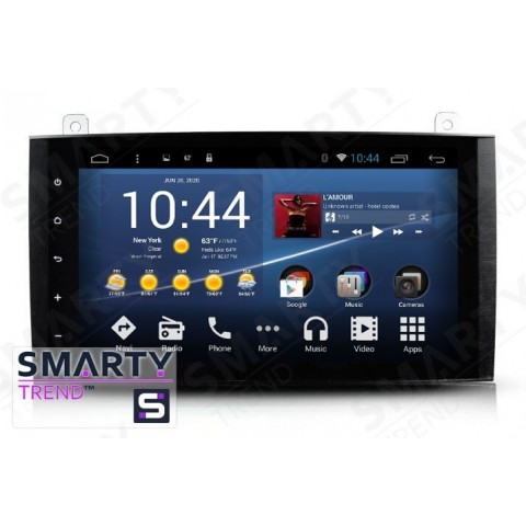 Штатная магнитола Smarty Trend ST3P2-516P5993 для Mercedes Benz Vito на Android 7.1.2 (Nougat)