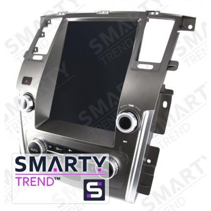 Штатная магнитола Smarty Trend для Nissan Patrol 2015+ (High-level) (Tesla Style) - Android 6.0