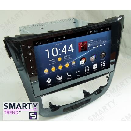 Штатная магнитола Smarty Trend для Nissan Qashqai 2014 - Android 7.1