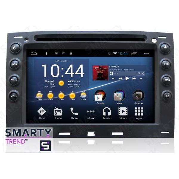 Штатная магнитола Smarty Trend для Renault Megane - Android 8.1 (9.0)