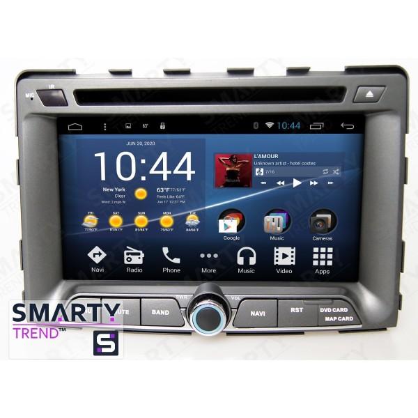 Штатная магнитола Smarty Trend для SsangYong Rodius 2013-2015 - Android 8.1 (9.0)
