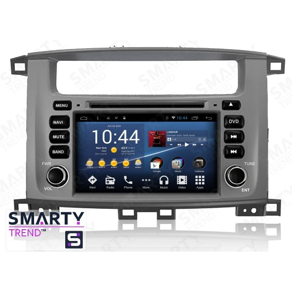 Штатная магнитола Smarty Trend для Toyota Land Cruiser 100 - Android 8.1 (9.0)
