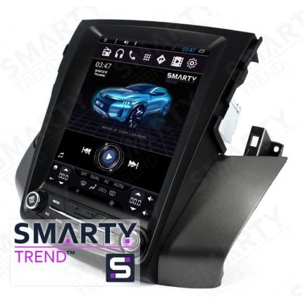Штатная магнитола Smarty Trend для Toyota RAV4 2005-2013 (Tesla Style) - Android 6.0