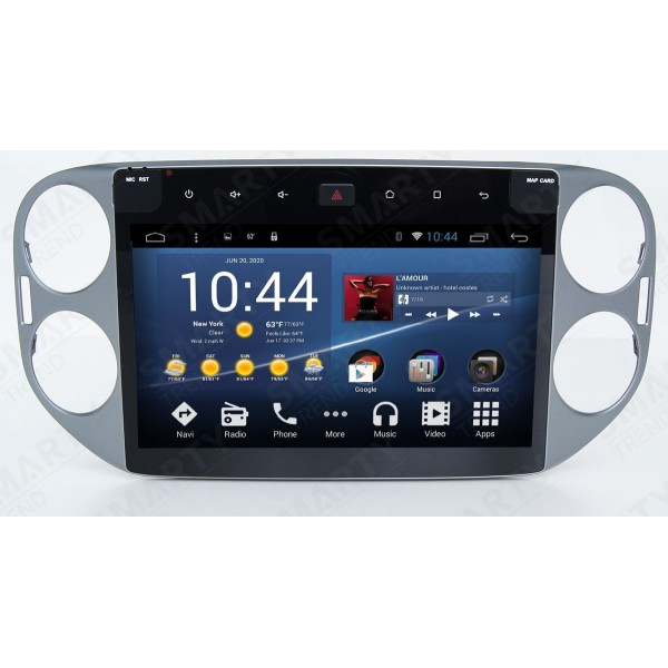 Штатная магнитола Smarty Trend для Volkswagen Tiguan - Android 7.1