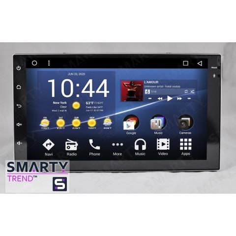 Штатная магнитола Smarty Trend ST8U-516PK8688 для 2-DIN Universal||Главная на Android 8.1.0 Oreo (обновление до Android 9.0 P)
