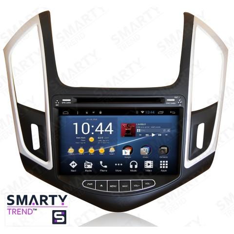 Штатная магнитола Smarty Trend ST3P2-516PK7692 для Chevrolet Cruze 2014-2015 на Android 7.1.2 (Nougat)