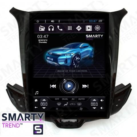 Штатная магнитола Smarty Trend ST8UT-516K10410 для Chevrolet Cruze 2015+ на Android 6.0.1 (Marshmallow)