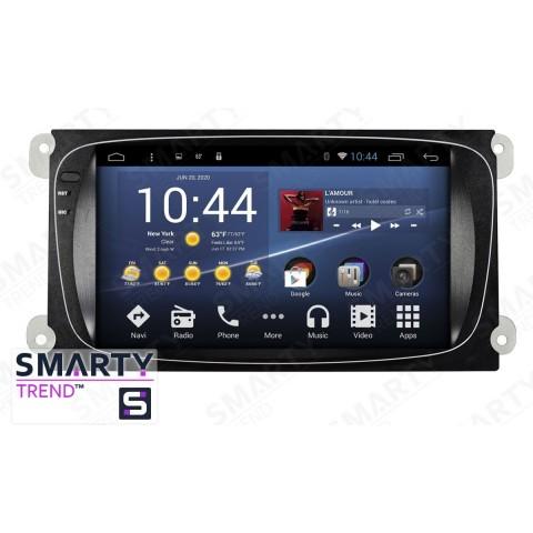 Штатная магнитола Smarty Trend ST3P2-516P5695 для Ford Mondeo на Android 7.1.2 (Nougat)