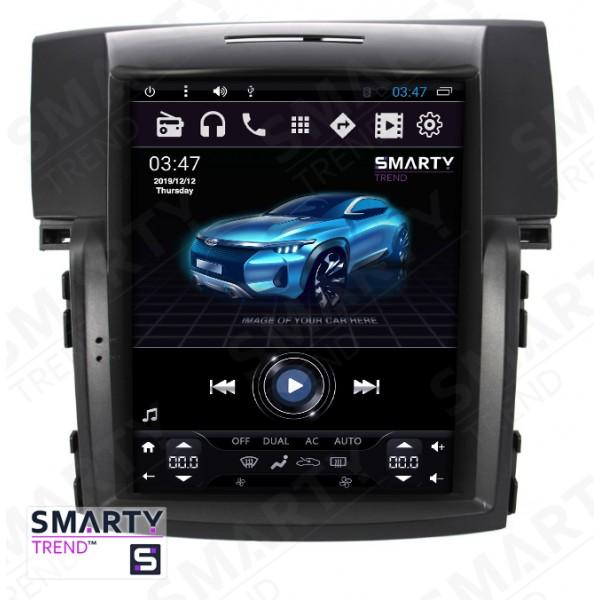 Штатная магнитола Smarty Trend для Honda CR-V 2012-2017 (Tesla Style) - Android 6.0