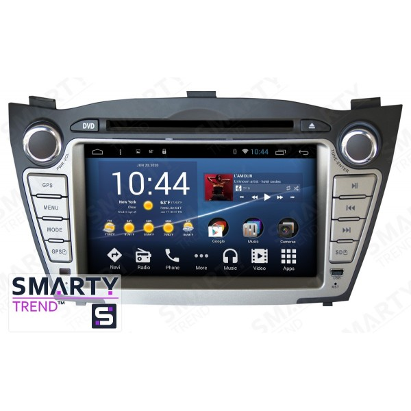 Штатная магнитола Smarty Trend для Hyundai ix35 - Android 8.1 (9.0)