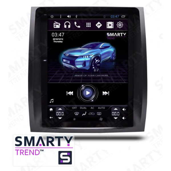 Штатная магнитола Smarty Trend для Lexus GX 470 2004-2009 (Tesla Style) - Android 6.0