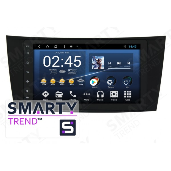 Штатная магнитола Smarty Trend для Mercedes-Benz G-Class (w463) - Android 8.1 (9.0)