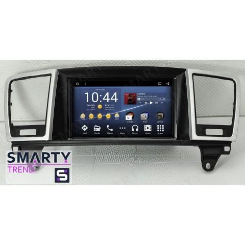 Штатная магнитола Smarty Trend ST3P-516P6001 для Mercedes Benz GL-Class на Android 7.1.2 (Nougat)