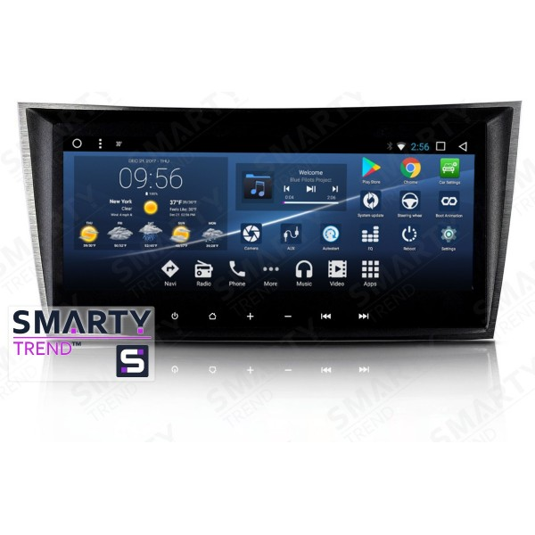 Штатная магнитола Smarty Trend для Mercedes G-Class (w463) - Android 7.1