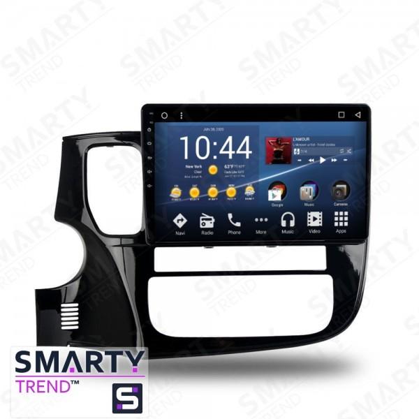 Штатная магнитола Smarty Trend для Mitsubishi Outlander 2015 - Android 7.1