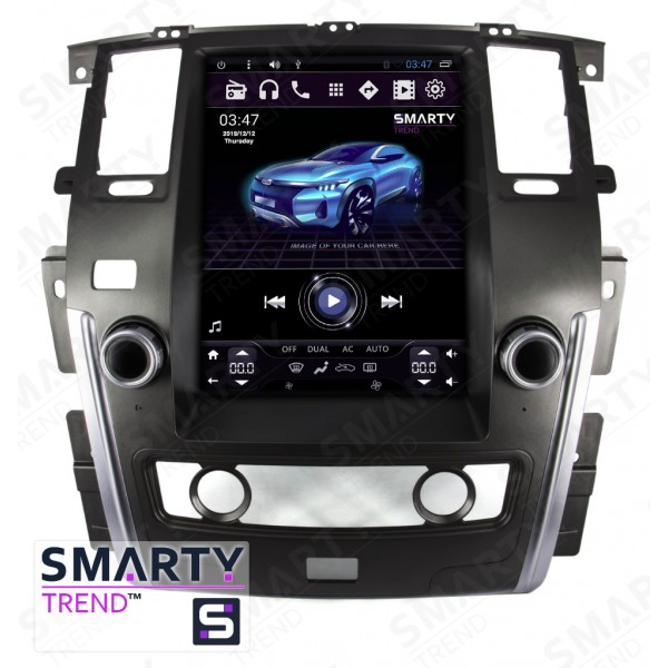 Штатная магнитола Smarty Trend для Nissan Patrol 2015+ (Tesla Style) - Android 6.0