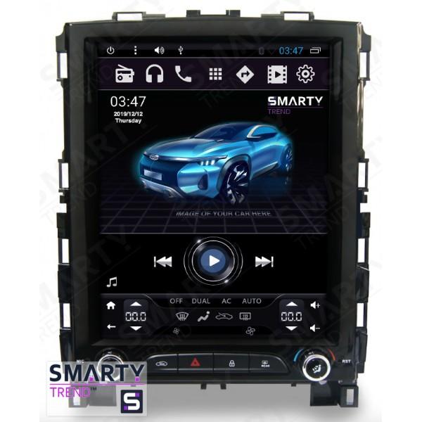 Штатная магнитола Smarty Trend для Renault Koleos (Tesla Style) - Android 6.0
