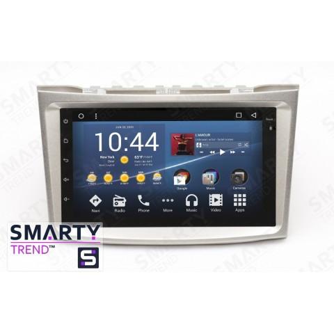 Штатная магнитола Smarty Trend ST3P2-516P1995 для Subaru Outback 2009-2014 на Android 7.1.2 (Nougat)