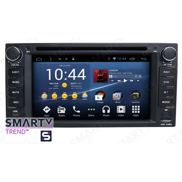 Штатная магнитола Smarty Trend для Toyota Fortuner 2005-2010 - Android 8.1 (9.0)