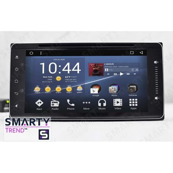 Штатная магнитола Smarty Trend для Toyota Yaris 2005-2013 - Android 7.1