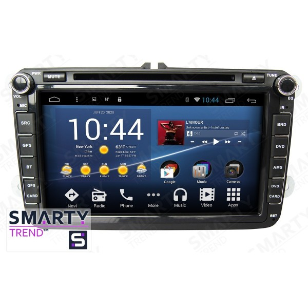 Штатная магнитола Smarty Trend для Volkswagen Golf V - Android 8.1 (9.0)