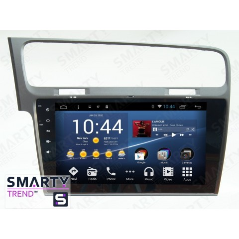 Штатная магнитола Smarty Trend ST3P2-516PK1691 для Volkswagen Golf VII на Android 7.1.2 (Nougat)