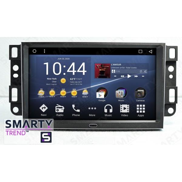 Штатная магнитола Smarty Trend для Chevrolet Epica 2006-2010 - Android 8.1 (9.0)