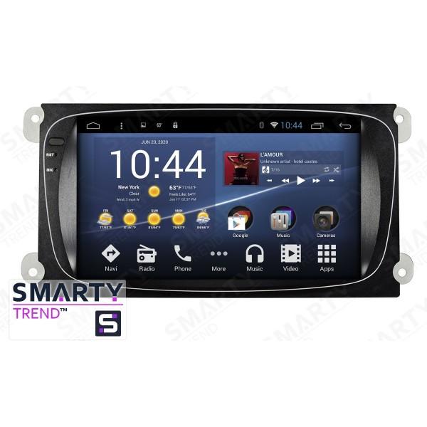 Штатная магнитола Smarty Trend для Ford S-MAX - Android 8.1 (9.0)