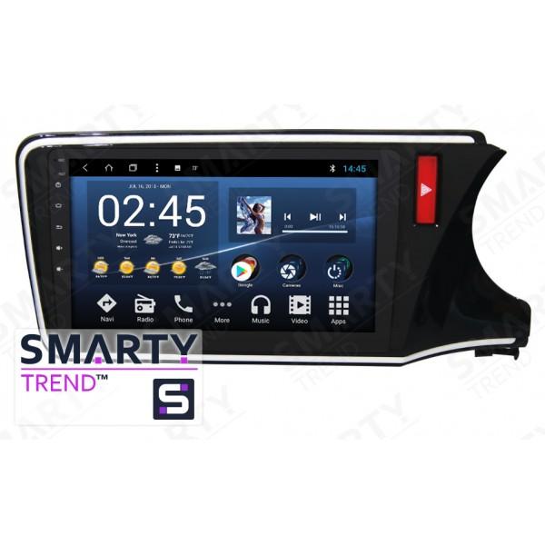 Штатная магнитола Smarty Trend для Honda City - Android 8.1 (9.0)