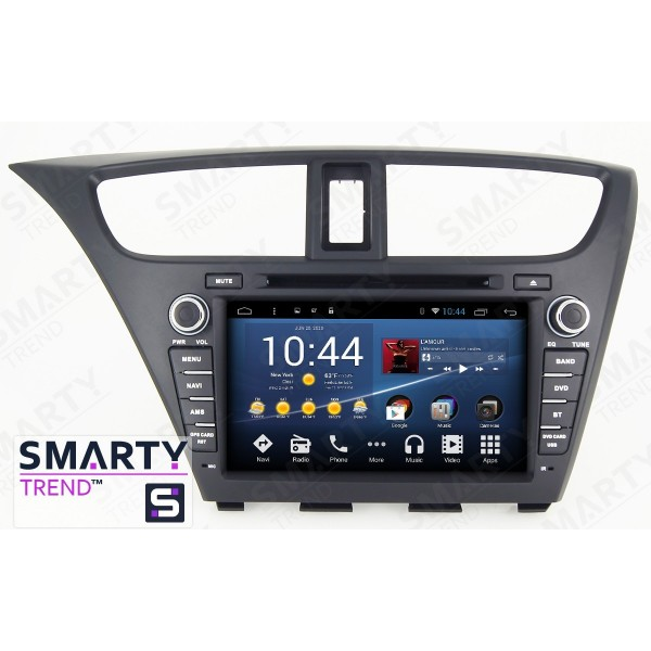 Штатная магнитола Smarty Trend для Honda CIVIC 5D 2014 - Android 8.1 (9.0)