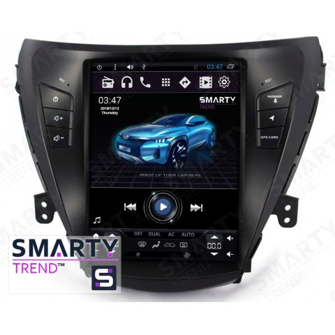 Штатная магнитола Smarty Trend ST8UT-516K97006 для Hyundai Elantra 2013-2016 на Android 6.0.1 (Marshmallow)